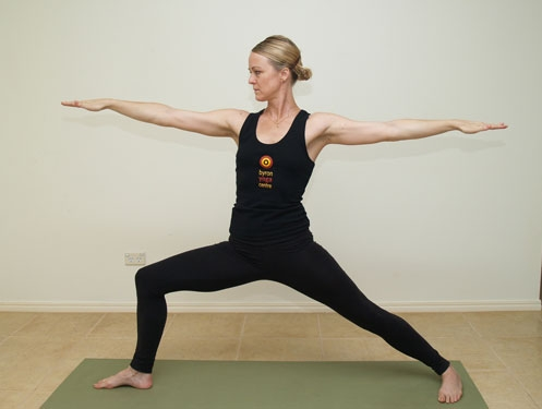 Yoga poses for beautiful hip and thigh
