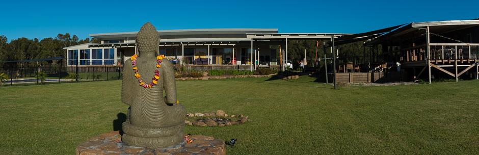 garden-buddha-byron-yoga-centre