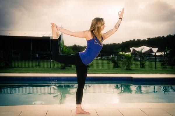 Natarajasana Lord Of The Dance Pose Byron Yoga