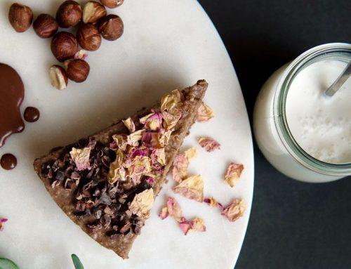 Raw Silky Nut Chocolate Cake