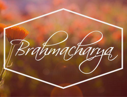 Living the 8 Limbs – the fourth of the Yamas – Brahmacharya