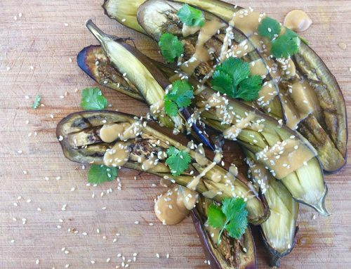 Recipe – Dengaku (Roast Eggplant with Miso Sauce)