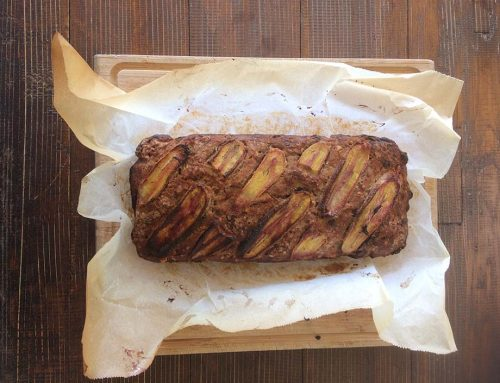 Delicious Banana Bread (yes it's vegan and gluten free)
