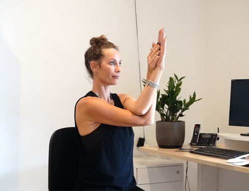 Hacks for yogis with a desk job
