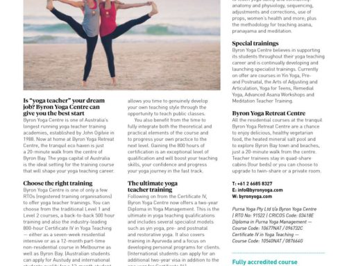 Wellbeing Magazine – Course Guide