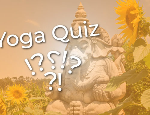 Yoga Quiz – test your yogability