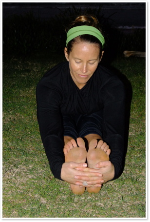 asana spotlight paschimottanasana  byron yoga