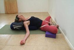 restorative heart opening  byron yoga