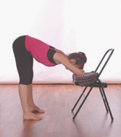 restorative forward bends and inversions  byron yoga